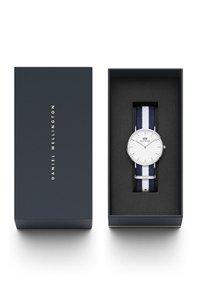 Daniel Wellington - CLASSIC GLASGOW 36MM - Watch - white, blue, silver - 1