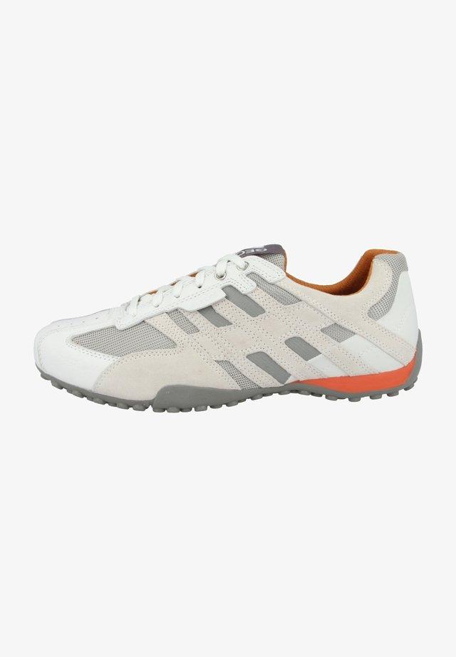 U SNAKE K - Sneakers basse - optic white