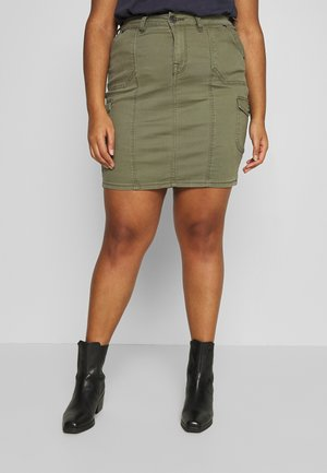 JLISA ABOVE KNEE SKIRT - Pencil skirt - ivy green
