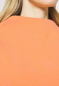 Opus - GABBI - Top sdlouhým rukávem - orange peel - 5