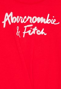 Abercrombie & Fitch - SHINE TWIST FRONT - Triko s potiskem - red - 2