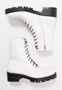 Who What Wear - LEXI - Platform ankle boots - prestine - 3