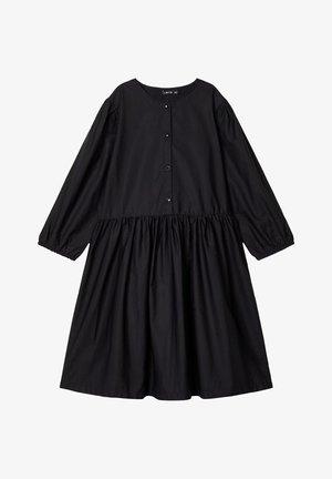 3/4-ÄRMEL - Vestido camisero - black