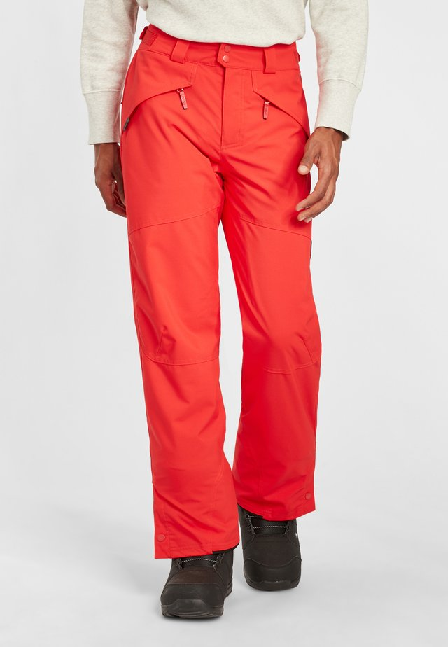 HAMMER - Pantalon de ski - fiery