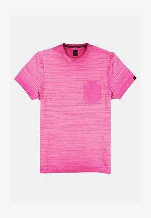Print T-shirt - violett