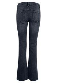 ICHI - IHERIN HASSE TREND - Bootcut jeans - medium blue - 6