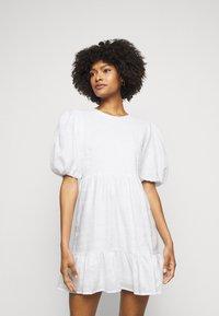 Faithfull the brand - LORICA DRESS - Day dress - plain white - 0