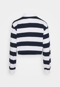 Tommy Jeans - STRIPED RUGBY - Polo - twilight navy - 6