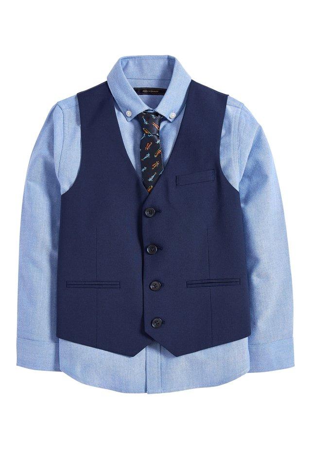 NAVY AEROPLANE WAISTCOAT SET (12MTHS-16YRS) - Kostymväst - blue