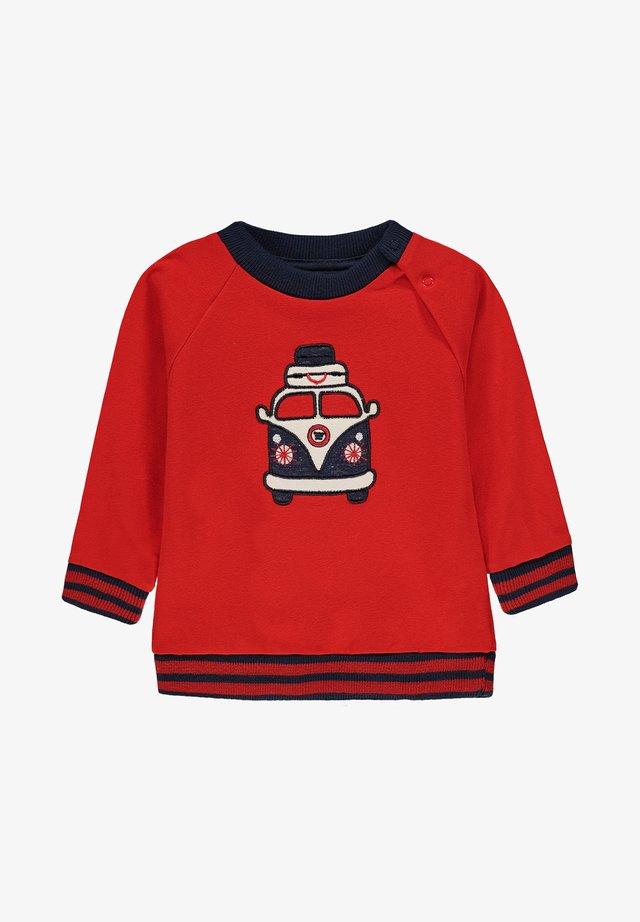 Sweatshirt - flame scarlet