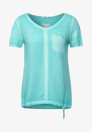 T-shirt print - türkis