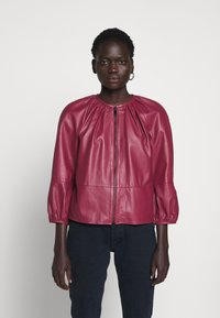 MAX&Co. - DEPONGO - Leather jacket - capnella rose - 0