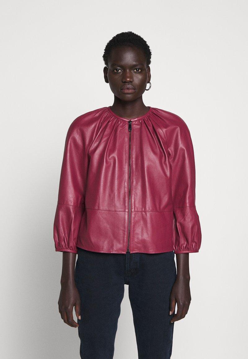 MAX&Co. - DEPONGO - Leather jacket - capnella rose