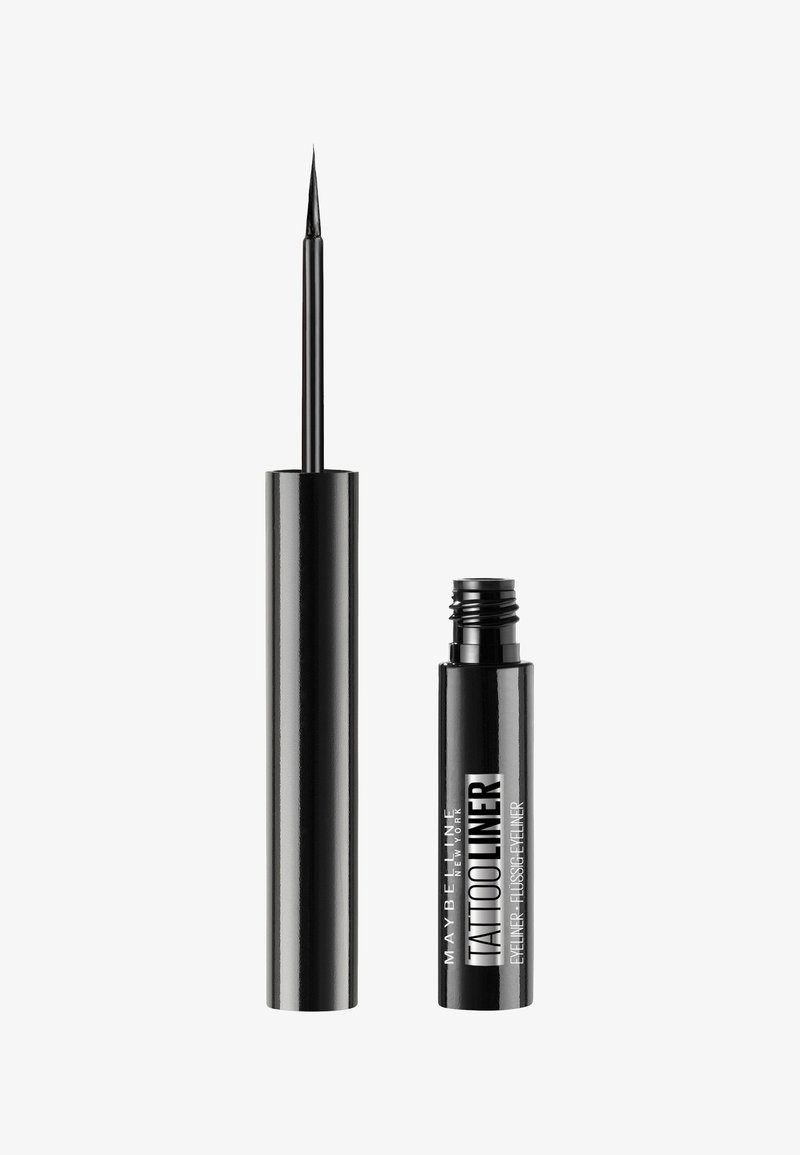 Maybelline New York - TATTOO LINER LIQUID INK EYELINER - Eyeliner - schwarz