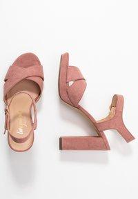 New Look - SANDIEGO - Korolliset sandaalit - light pink - 3