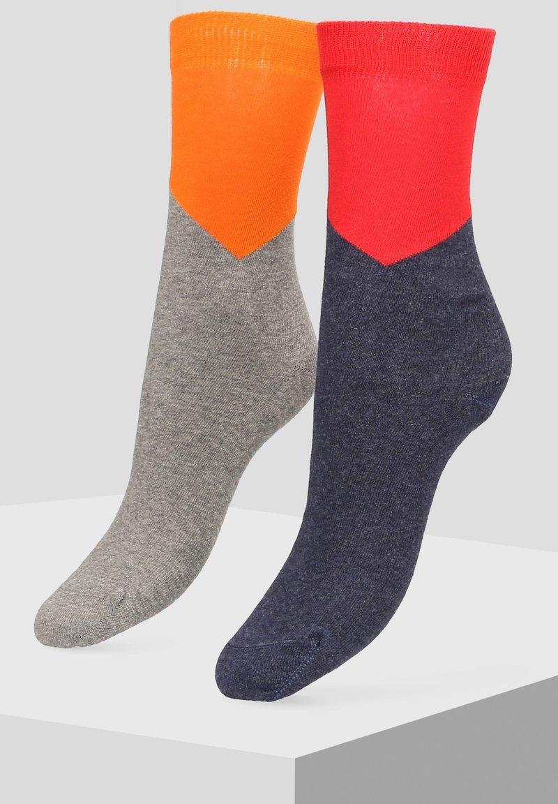 Libertad - 2 PACK - Socks - grey