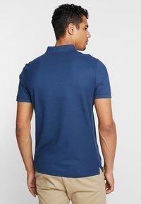 Calvin Klein - REFINED LOGO SLIM FIT - Polo shirt - blue - 2