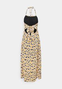 Cotton On - HARPER TIE BACK HALTER DRESS - Maxi dress - josie daisy black - 1
