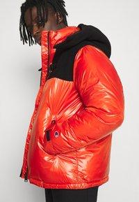 Champion Reverse Weave - HOODED JACKET - Winter jacket - red - 4
