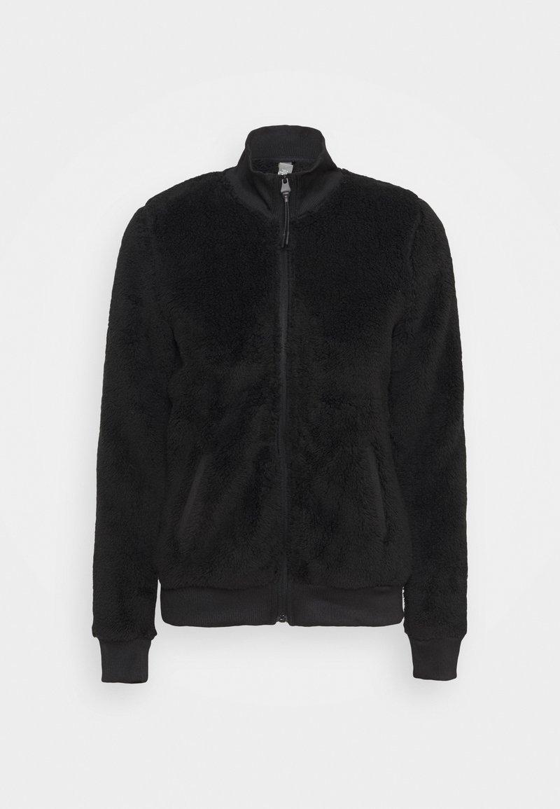 ONLY Play - ONPJAEL FLUFFY ZIP JACKET - Fleece jacket - black