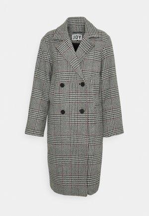 JDYDAHLIA CHECK JACKET - Classic coat - black/nostalgia rose