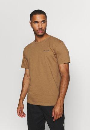 BLAZING TRAIL GRAPHIC TEE - T-shirt med print - light brown