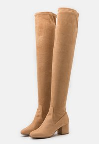 Steve Madden - ISAAC - Over-the-knee boots - tan - 2