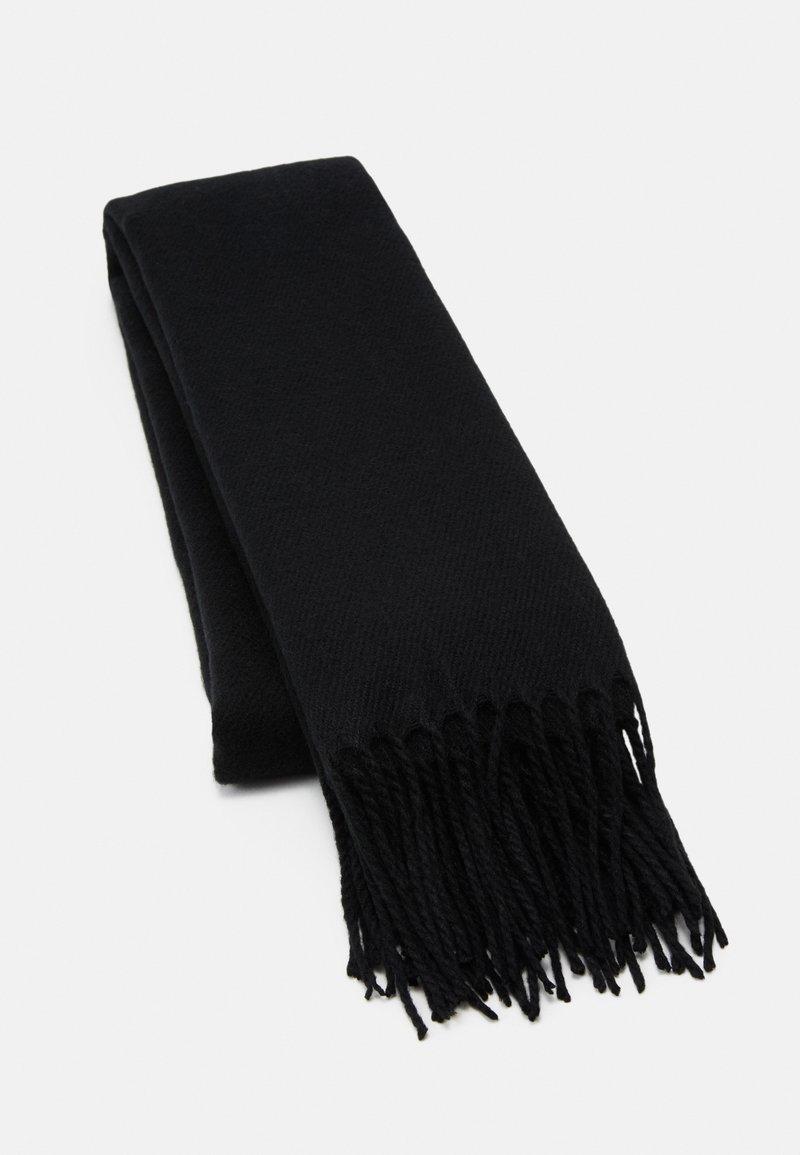 Vero Moda - VMSOLID LONG SCARF COLOR - Sjal - black