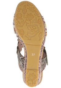 LAURA VITA - Platform sandals - grey - 4