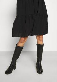 JDY - JDYPIPER DRESS - Shirt dress - black - 3