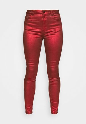 BETTY - Trousers - red