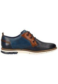 Bugatti - Smart lace-ups - dark blue/blue - 6