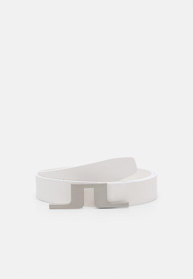 GOLF BELT - Cintura - white