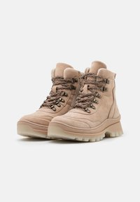 Tamaris - Lace-up ankle boots - cream - 2