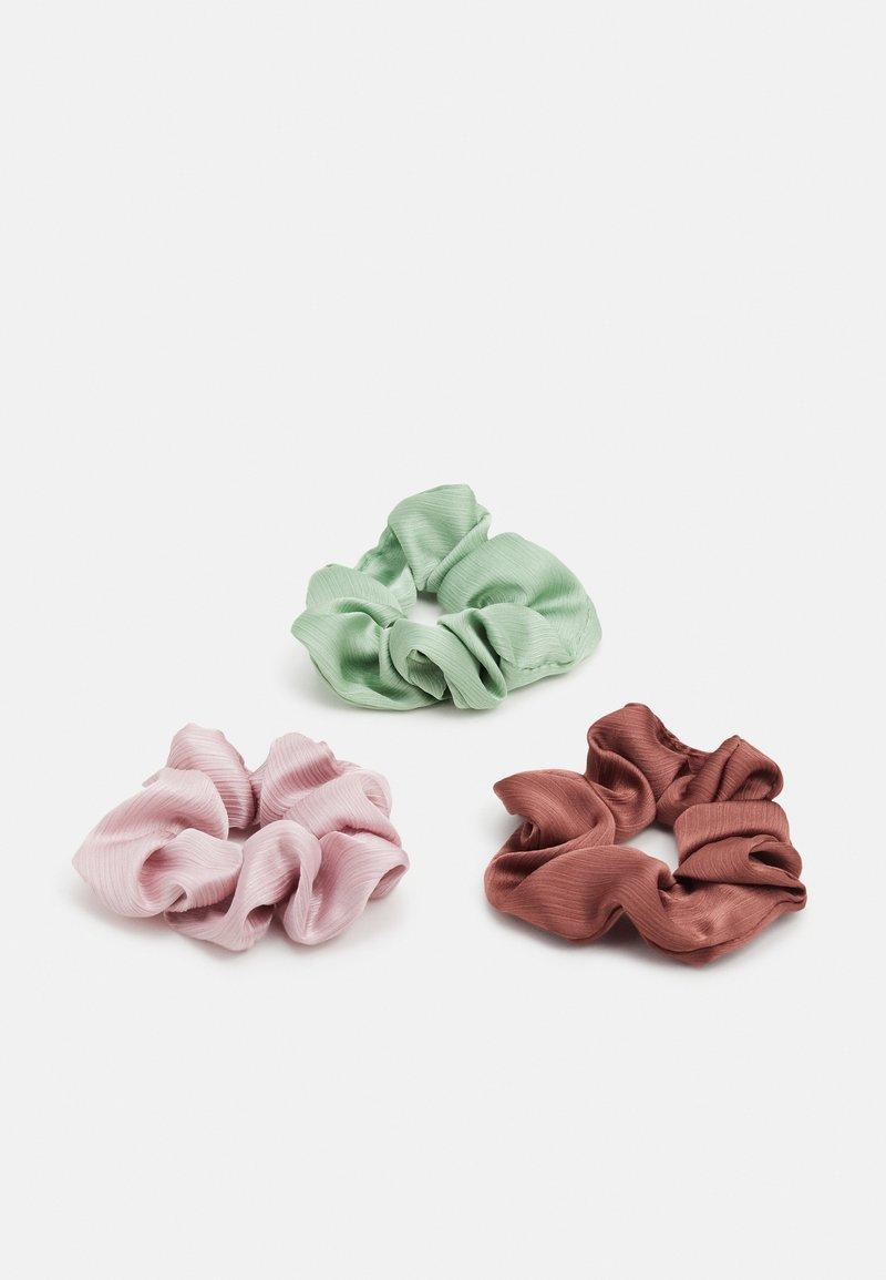 Pieces - PCMADELINNA SCRUNCHIE 3 PACK - Příslušenství kvlasovému stylingu - ambrosia/rose/purple