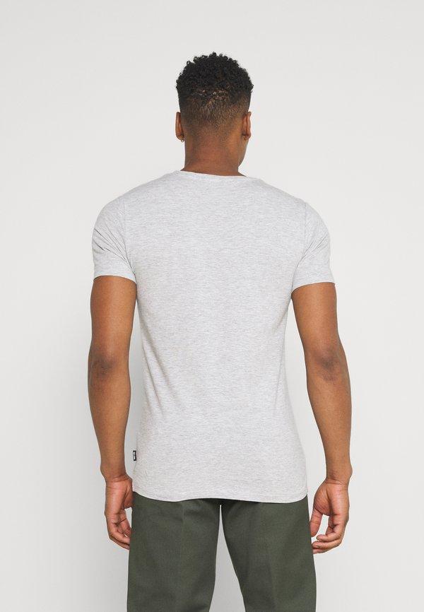Only & Sons ONSBASIC LIFE VNECK 7 PACK - T-shirt basic - white/black/czarny Odzież Męska ZEQR