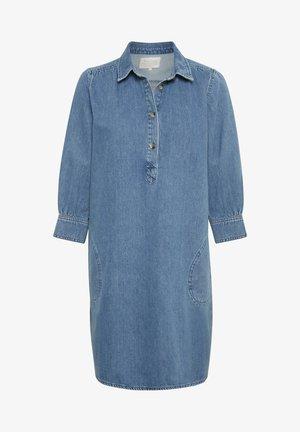HUANPW DR - Denim dress - medium blue denim