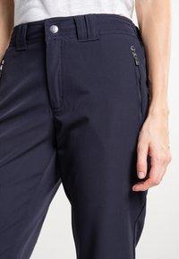 Luhta - ARVIDILA  - Outdoor shorts - dark blue - 3
