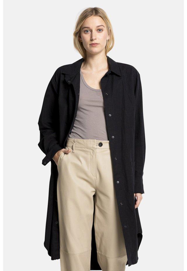 JANE - Shirt dress - black