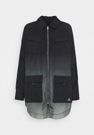 WINDBREAKER - Summer jacket - black/particle grey