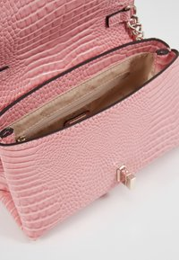 Guess - UPTOWN CHIC MINI XBODY FLAP - Across body bag - pink - 5