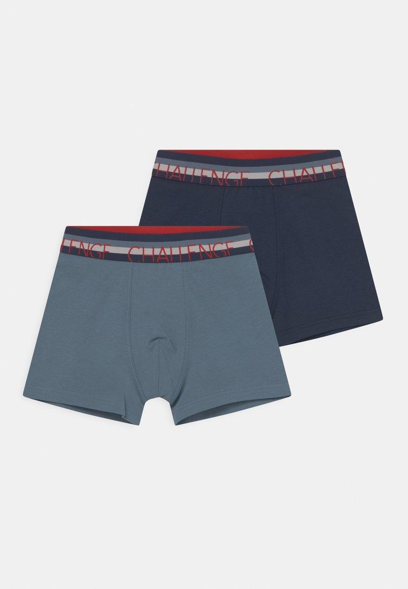 Sanetta - 2 PACK - Pants - blue mirage
