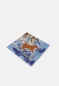 Codello - ANIMALS SIGNATURE HERRINGBONE - Foulard - jeans blue - 0