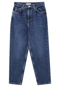 PULL&BEAR - Jean slim - stone blue denim - 0