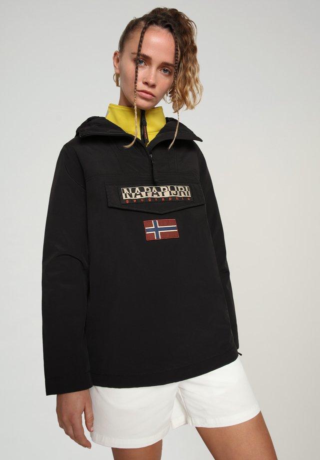 RAINFOREST SUMMER - Windbreaker - black