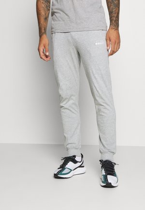 CUFF PANTS CORE LIGHT - Tracksuit bottoms - light middle grey melange