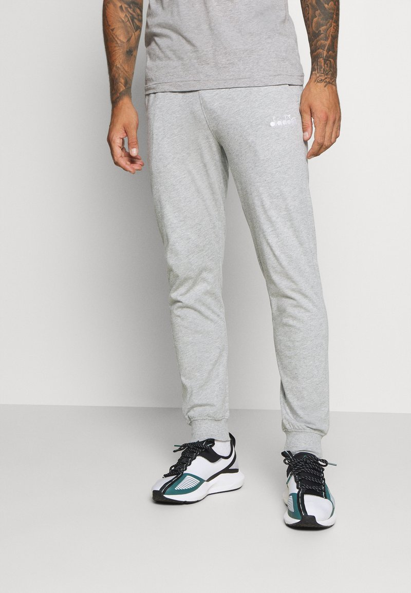 Diadora - CUFF PANTS CORE LIGHT - Træningsbukser - light middle grey melange