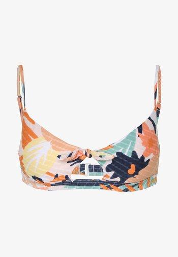 SEA BRAL - Bikini top - peach/blush/bright