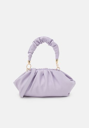 PCPIPPA CROSS BODY - Handbag - purple heather/gold-coloured