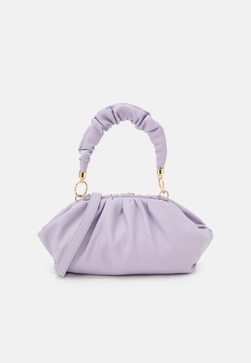 Pieces - PCPIPPA CROSS BODY - Handbag - purple heather/gold-coloured